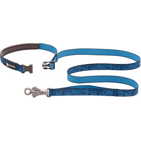 Ruffwear Flat Out Collar oceanic distortion